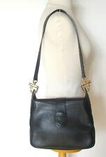 T. joli sac vintage classique RENOUARD en cuir façon lézard porté épaule
