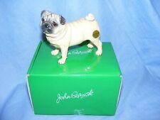 John Beswick Dog Pug Fawn JBD93 NEW Boxed