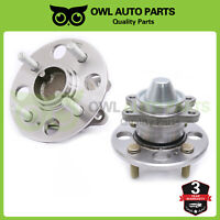 Rear Wheel Bearing and Hub Left & Right Pair Set of 2 Fits 06-11 Rio5 Accent Rio