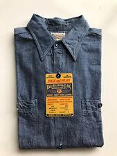 Buzz Rickson US Navy Chambray Shirt USN Made In Japan Mister Freedom Sugarcane