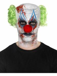 Sinister Clown Make Up Kit Halloween Fancy Dress Horror Scary Clown