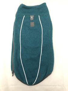 "Ruffwear Fernie Sweater Knit Jacket Size XXS 13-17"" Tumalo Teal EUC"