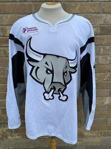 CCM San Antonio Rampage Pro Game Used Jersey Size 56 GEERTSEN Signed 7317