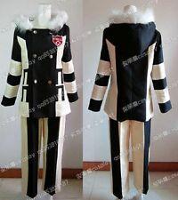 Katekyo Hitman Reborn Fran Winter Suit Cosplay Costume J001