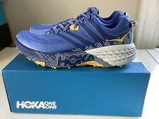 NEW Hoka One One Speedgoat 3 Women's Running Shoes - Blue/Yellow - Sz 10