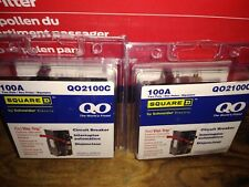 Square D Qo2100c 2 Pole 100amp Circuit Breaker