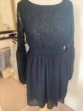 ladies black dress size 14