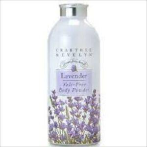 Crabtree Evelyn Classic  Lavender Perfumed Talcum Powder   2.6 oz