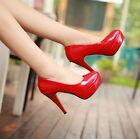 Women New Pumps Platform Strappy Buckle Stiletto High Heels Party/Wedding Shoes
