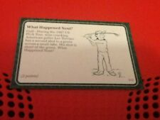 #510 Lee Trevino golf / A Question of Sport game card / 1987 subset