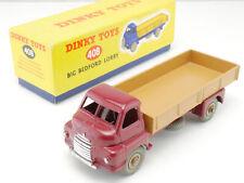 Dinky Toys 408 Big Bedford Lorry nearest MINT in box  MIB! OVP 1609-05-18