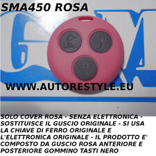 COVER GUSCIO ROSA TELECOMANDO SMART FORTWO FOR TWO 450 3 TASTI - USA TUA CHIAVE