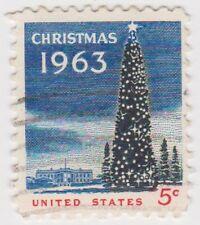 (USB181)1963 USA 5c Christmas SG1222