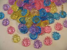 "48 Decorative Acrylic ""Beetle"" Gems - Stones - Crafts"