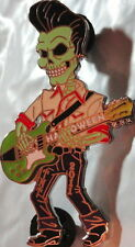 HRC HOLLYWOOD TNT 2011 HALLOWEEN PIN FRANKENSTEIN Play Guitar HARD ROCK Traders!