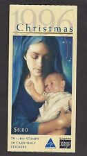 Australia - 1570a - Mnh - Complete Booklet - Christmas 1996