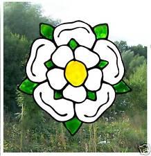 Yorkshire ROSE Colorate Effetto Vetro Finestra Pellicola Per