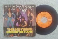 The sweet the six Teens German COLLECTORS EDITION 7 Inch Vinyl 1974