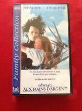 VHS - EDWARD AUX MAINS D'ARGENT / TIM BURTUN / JOHNNY DEPP / WINONA RYDER / 1990