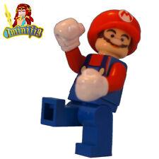 Custom Print LEGO minifigure Super Mario Custom