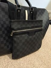 Mens Louis Vuitton Thomas Messenger Bag Damier Graphite Rare