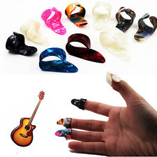 1 Thumb + 3 Finger Acoustic Nail Celluloid Jim Guitar Banjo Thumb Picks Plectrum