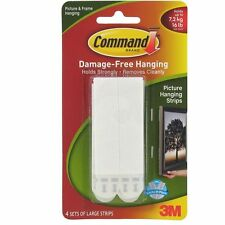 3M Command large picture hanging strips Damage Free