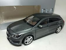 1/18 Norev Mercedes-Benz CLA Shooting Brake Grey Dealer Version