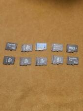Mixed Brand Micro SD Card Lot 10 cards 1GB