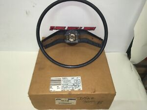 NOS Ford 75 76 Torino Ranchero Maverick Comet Blue Steering Wheel D5AZ-3600-B