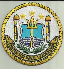 CENTER FOR NAVAL LEADERSHIP U.S.NAVY PATCH VIRGINIA BEACH SAILOR OFFICER USA