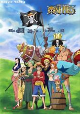 """ebiVibe One Piece: Straw Hat Pirates Sailing Again Group Wall Scroll 27.8"""" X 19."""