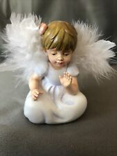"Bradford Exchange Heavenly Angel figurine 3 "" Enchanting Harmony"