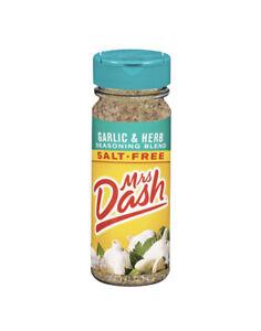 🔥Mrs Dash Garlic & Herb Salt Free Blend - Larger 6.75 oz Bottle EXP 1/22 🆕