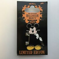 WDW - MNSSHP 2009 - Mickey Mouse as a Vampire - LE 2000 Disney Pin 72240