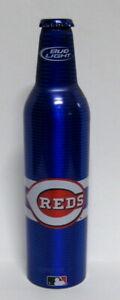 Bud Light 16 oz Aluminum Beer Bottle #501244 - 2008 Cincinnati Reds