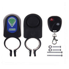 Lock Bicycle Cycling Security Alarm Anti-Theft System Kit for Bike & Motorbike