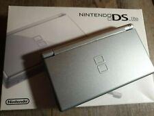 Nintendo DS Lite Silver Silber komplett in OVP