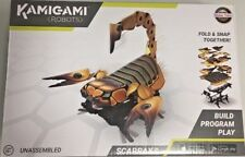 Kamigami Scarrax Robot App- Controlled Critters Battling Racing Boys STEM Toy