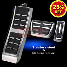 Original style DSG AT Foot Rest Pedals Plate Cover Set for A4 S4 A5 A6 Q5 S5 A7