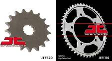 Front & Rear Sprocket Kit SUZUKI DL1000 K2,K3,K4,K5,K6,K7,K8,K9,L0 V-Strom 02-10