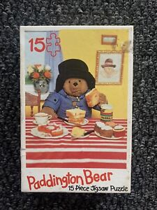 Vintage Paddington Bear Puzzle 15 Chunky Pieces 2+ Years