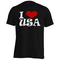I love USA Novelty   Men's T-Shirt/Tank Top q44m