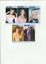 (5) Rare Mariah Carey Phone Cards **