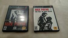 Max Payne 1 & 2: The Fall of Max Payne Complete PS2 Playstation 2 Black Label