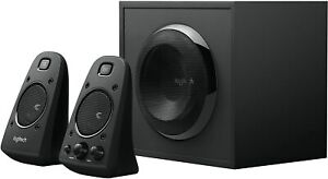 Logitech Z623 - 400 Watt Home Speaker System (3-Piece) - 2.1 Channel - Black