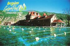 Postcard Colorado Glenwood Springs Hot Springs Lodge & Pool Garfield County MINT