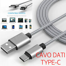 Cavo DATI Cavetto Type-C USB RICARICA Samsung GALAXY NOTE 8 CARICA Sincronizza