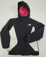 The North Face Girl's Jacket Pink And Black Girls Size M (10-12) 2 In 1 Puffer