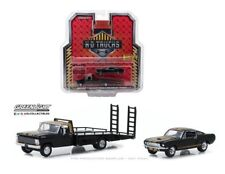 GREENLIGHT 1:64 HD 1968 FORD F-350 RAMP TRUCK WITH 1966 SHELBY MUSTANG 33130-A